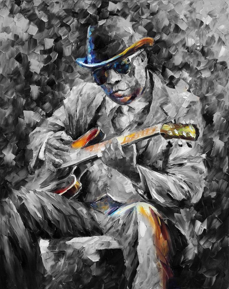 john_lee_hooker__decorative_interior_print_by_leonidafremov-davr5oz
