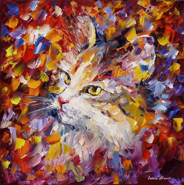 old_cat_by_leonid_afremov_by_leonidafremov-d9osyzy